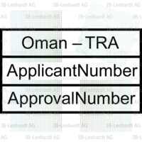 Oman Type Approval Label